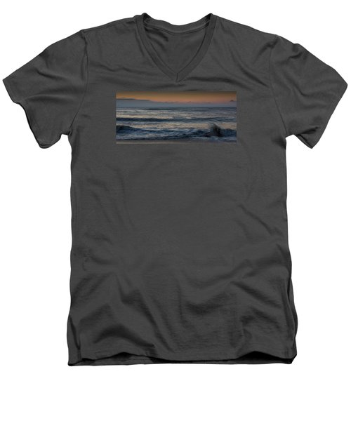Assateague Waves Men's V-Neck T-Shirt