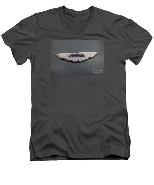 Aston Martin Men's V-Neck T-Shirt