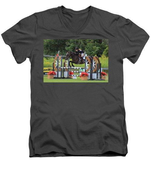 At-su-jumper100 Men's V-Neck T-Shirt