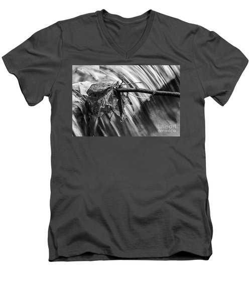 At The Edge Men's V-Neck T-Shirt