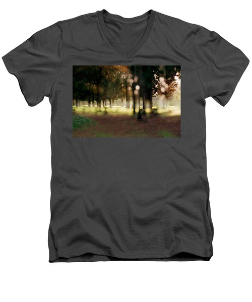 At The Yarkon Park Tel Aviv Men's V-Neck T-Shirt