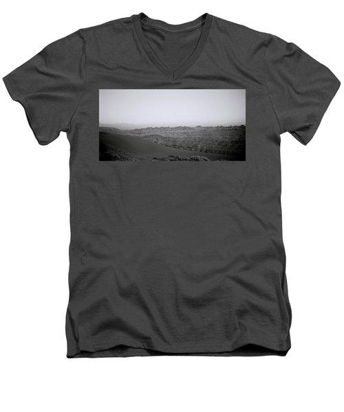 Remote Nirvana Men's V-Neck T-Shirt by Shaun Higson