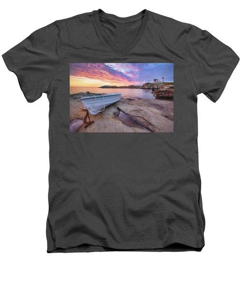 Atlantic Dawn Men's V-Neck T-Shirt