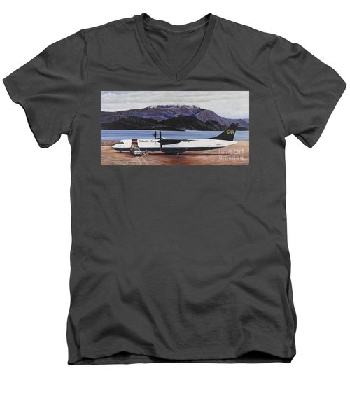 Atr 72 - Arctic Bay Men's V-Neck T-Shirt