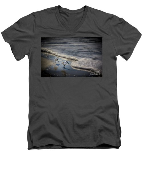 Attack Of The Sea Foam Men's V-Neck T-Shirt