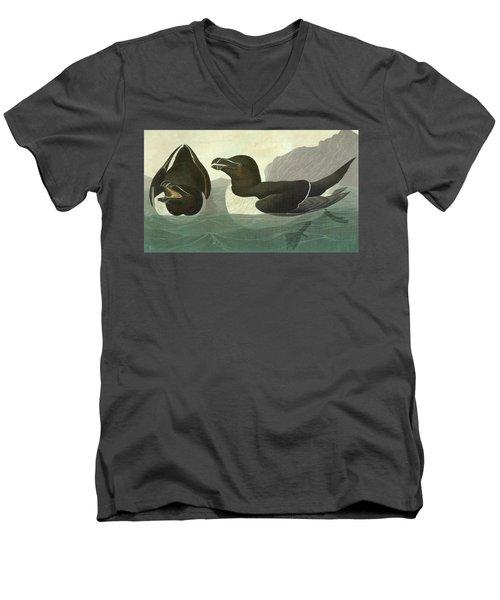 Audubon Razorbill Men's V-Neck T-Shirt