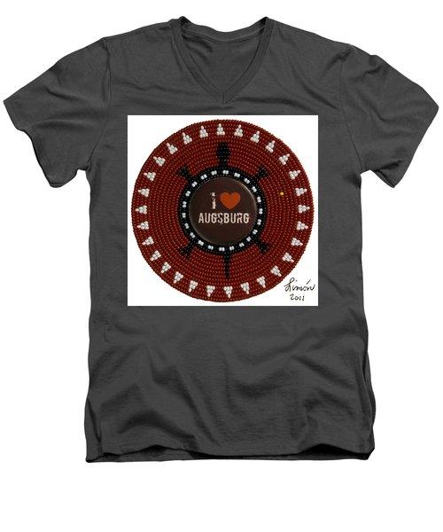 Augsburg 2011 Men's V-Neck T-Shirt