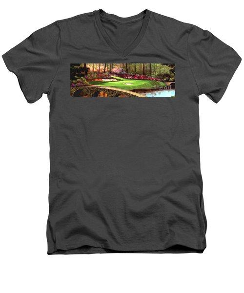 Augustas 12 Hole 28x9 Men's V-Neck T-Shirt