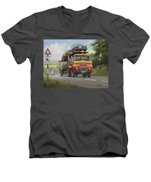Austin Carrimore Transporter Men's V-Neck T-Shirt