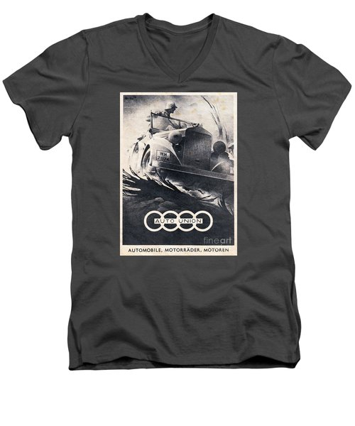 Auto Union Men's V-Neck T-Shirt