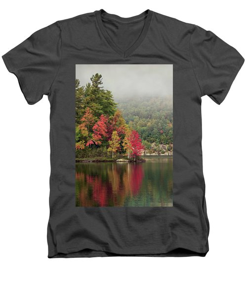 Autumn Breath Men's V-Neck T-Shirt