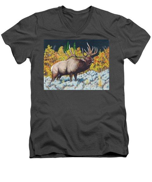 Autumn Challenge Men's V-Neck T-Shirt