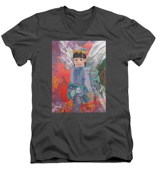Autumn Fairy Men's V-Neck T-Shirt