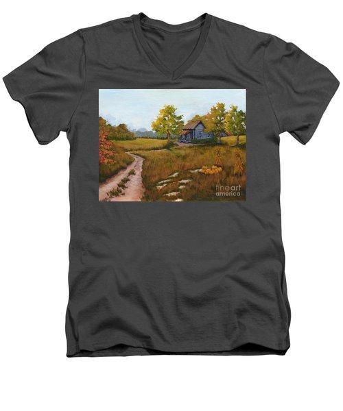 Autumn Harvest Men's V-Neck T-Shirt