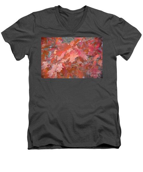 Autumn Paintbrush Men's V-Neck T-Shirt
