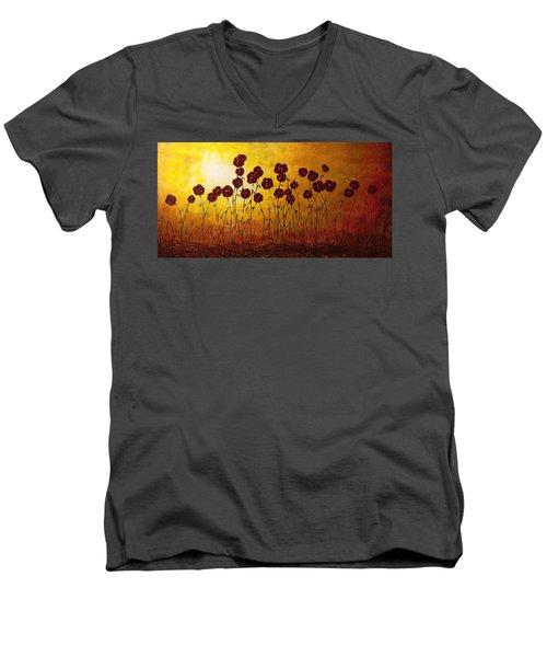Autumn Valley Men's V-Neck T-Shirt