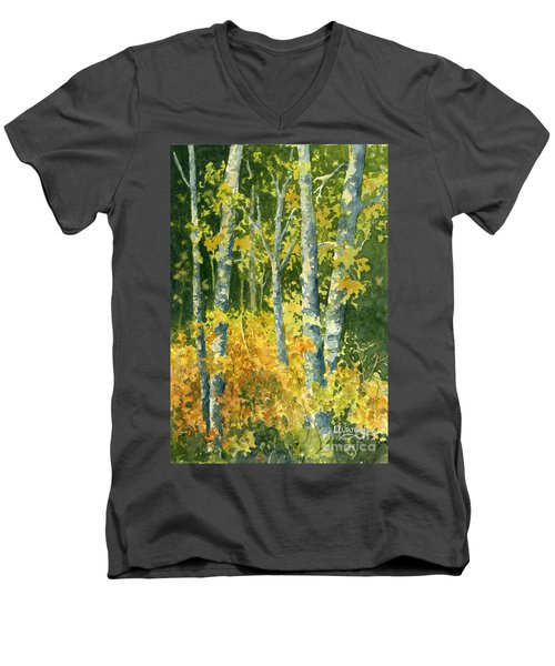 Autumn Woods Men's V-Neck T-Shirt