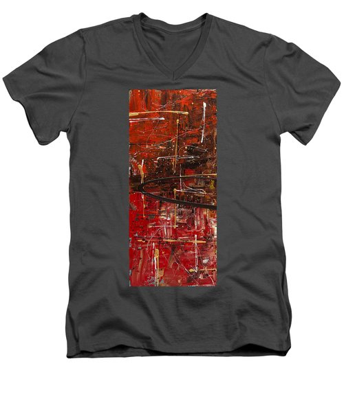 Autumn1  Men's V-Neck T-Shirt