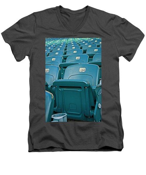 Awaiting The Crowds Men's V-Neck T-Shirt
