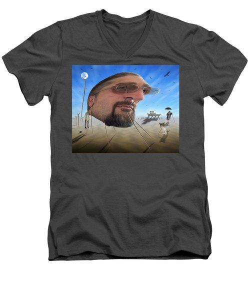 Awake . . A Sad Existence Men's V-Neck T-Shirt