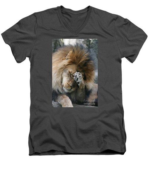 Awwwww..... Men's V-Neck T-Shirt