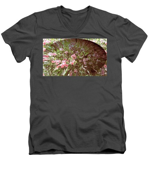 Azalea Bouquet Men's V-Neck T-Shirt