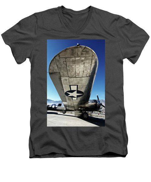 B 17 Sentimental Journey Men's V-Neck T-Shirt