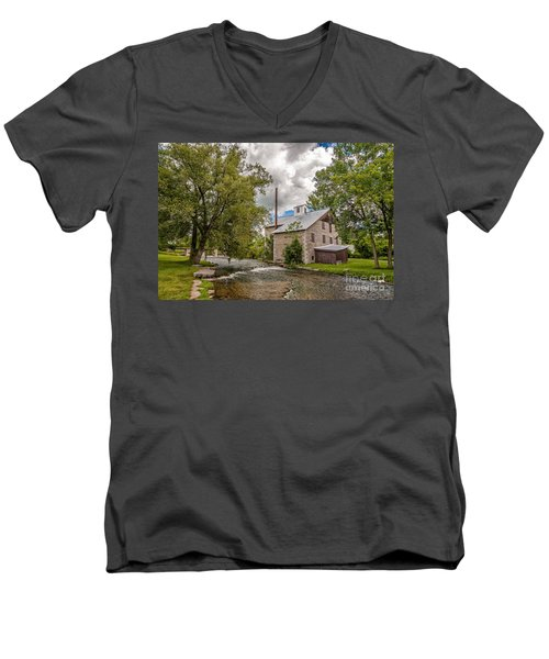 Babcock Mill Men's V-Neck T-Shirt