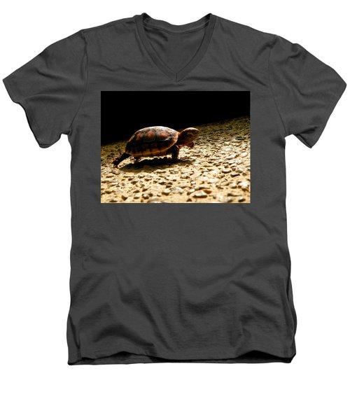 Baby Steps Men's V-Neck T-Shirt