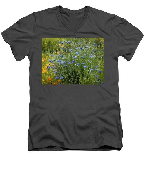 Bachelor's Meadow Men's V-Neck T-Shirt