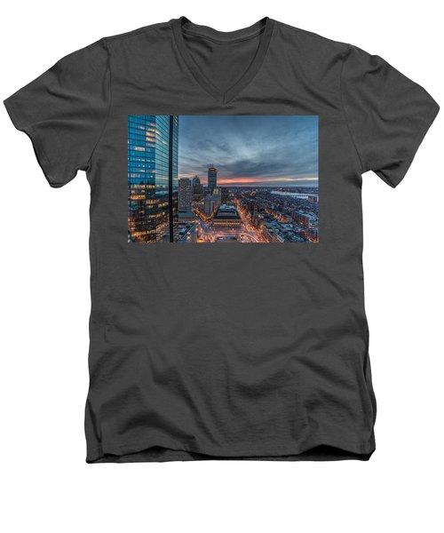 Back Bay Men's V-Neck T-Shirt