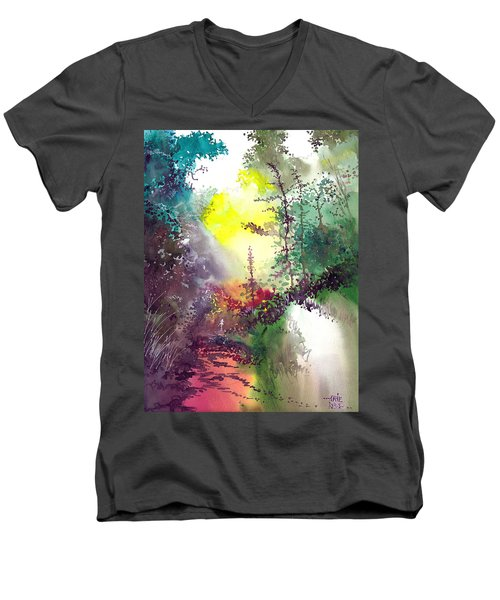 Back To Jungle Men's V-Neck T-Shirt