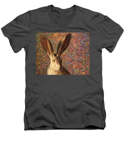 Background Noise Men's V-Neck T-Shirt by James W Johnson