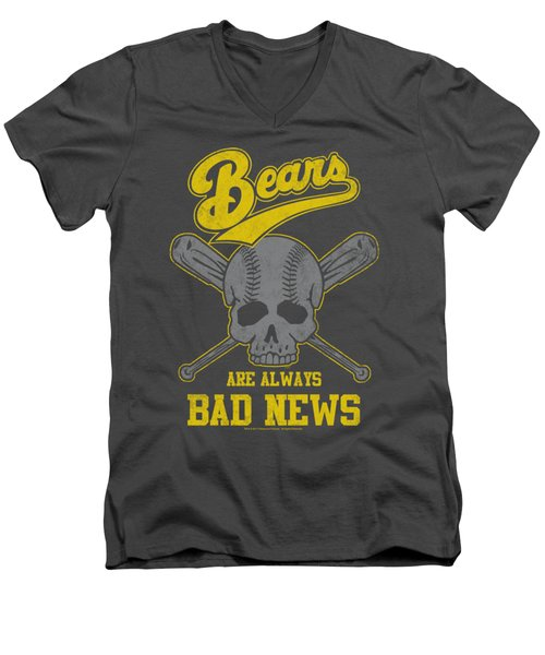 Bad News Bears - Always Bad News Men's V-Neck T-Shirt