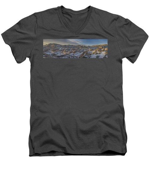 Badlands Sunrise Men's V-Neck T-Shirt