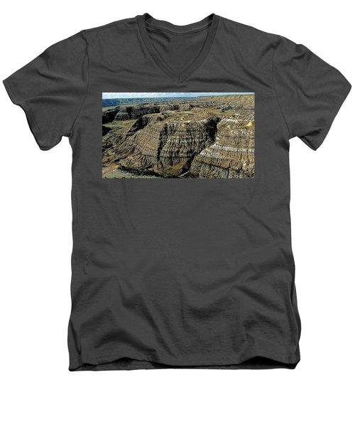 Badlands Men's V-Neck T-Shirt