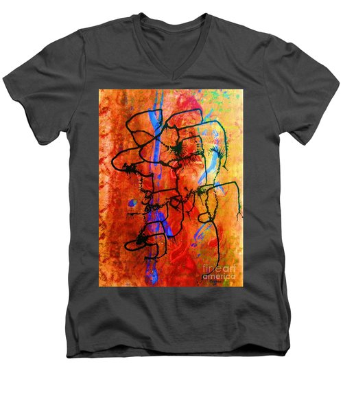 Baja Primative Men's V-Neck T-Shirt