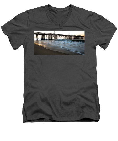 Balboa Pier  Men's V-Neck T-Shirt