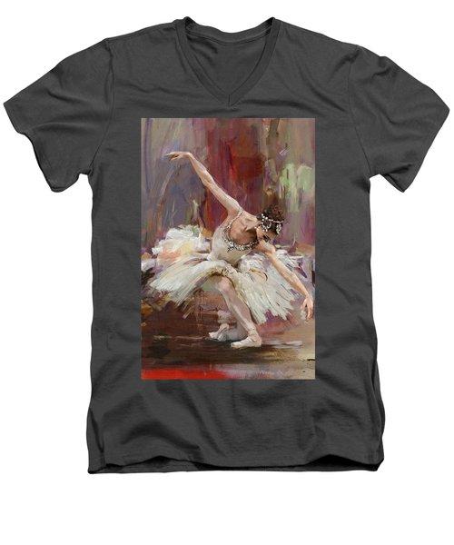 Ballerina 36 Men's V-Neck T-Shirt