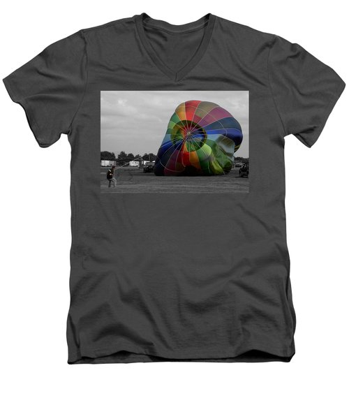 Balloon Fun Men's V-Neck T-Shirt