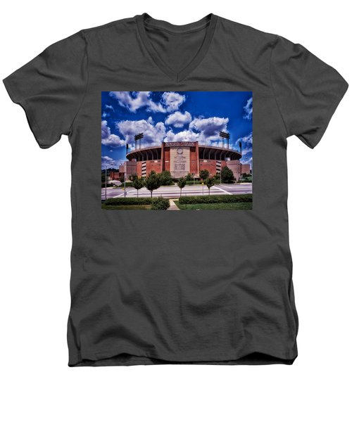 Baltimore Memorial Stadium 1960s Men's V-Neck T-Shirt