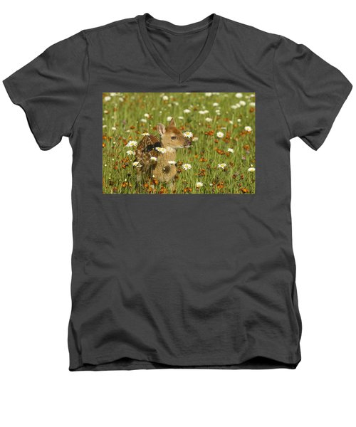 Bambi Men's V-Neck T-Shirt