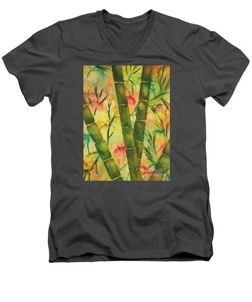 Bamboo Garden Men's V-Neck T-Shirt