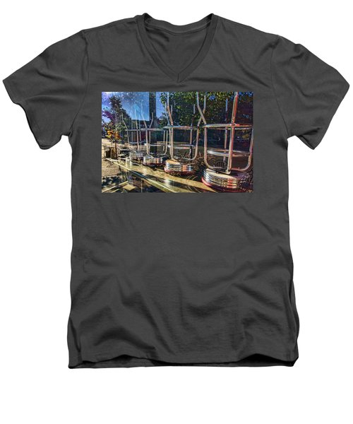 Bar Stools Up Men's V-Neck T-Shirt