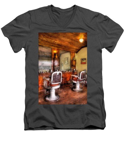 Barber - The Barber Shop II Men's V-Neck T-Shirt