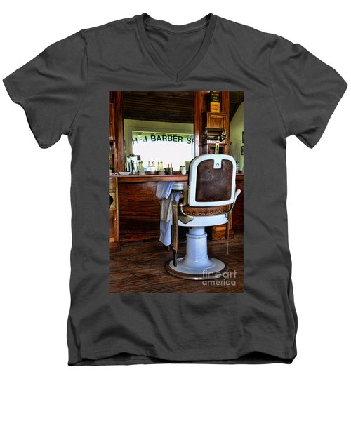 Barber - The Barber Shop Men's V-Neck T-Shirt