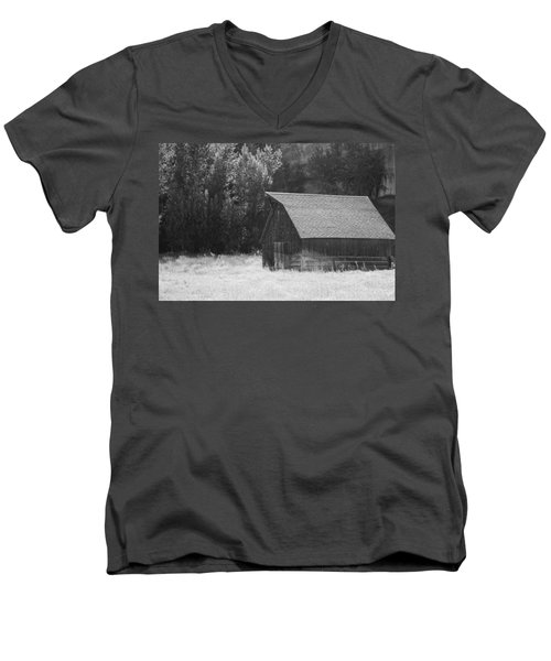 Barn Out West Men's V-Neck T-Shirt