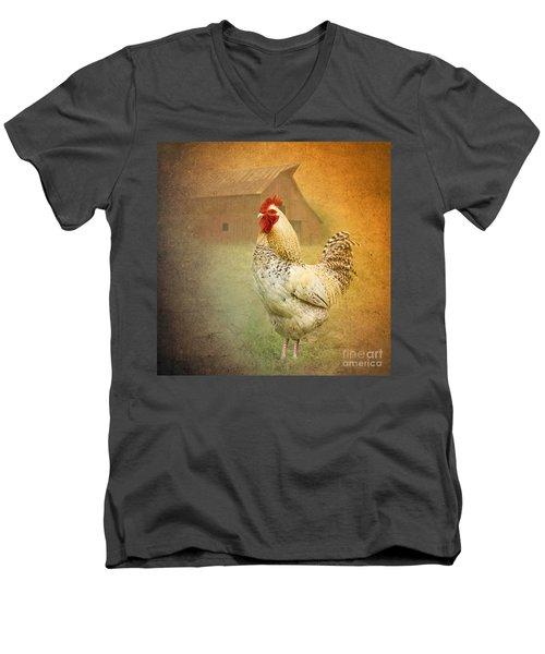 Barnyard Boss Men's V-Neck T-Shirt