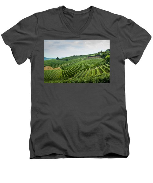 Barolo Men's V-Neck T-Shirt