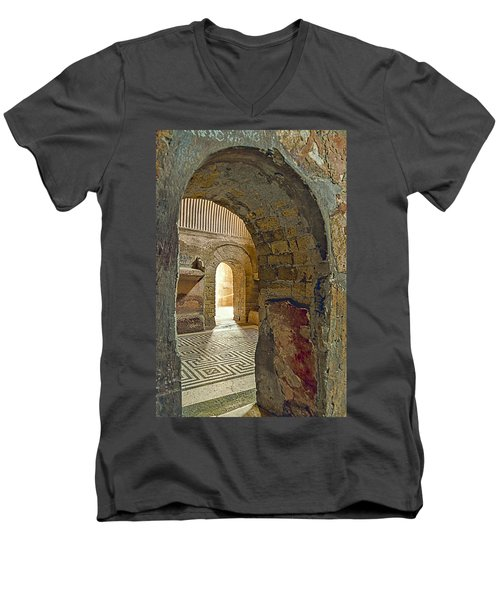 Bath House Men's V-Neck T-Shirt
